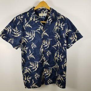 High Surf Hawaiian Floral Shirt Shirt Sleeve Sz XL